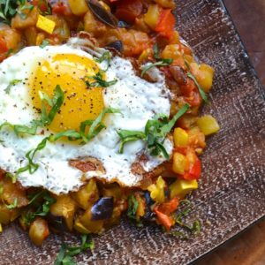 ratatouille-fried-eggs